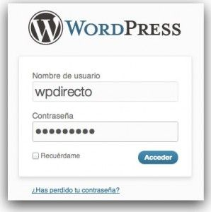 Redireccionar a usuarios de wordpress después del login