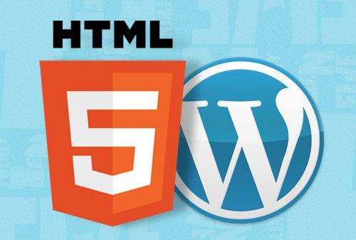Cómo convertir una plantilla de WordPress en Html5