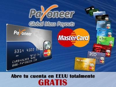 Cómo Ganar Dinero en Internet con la Tarjeta Payoneer