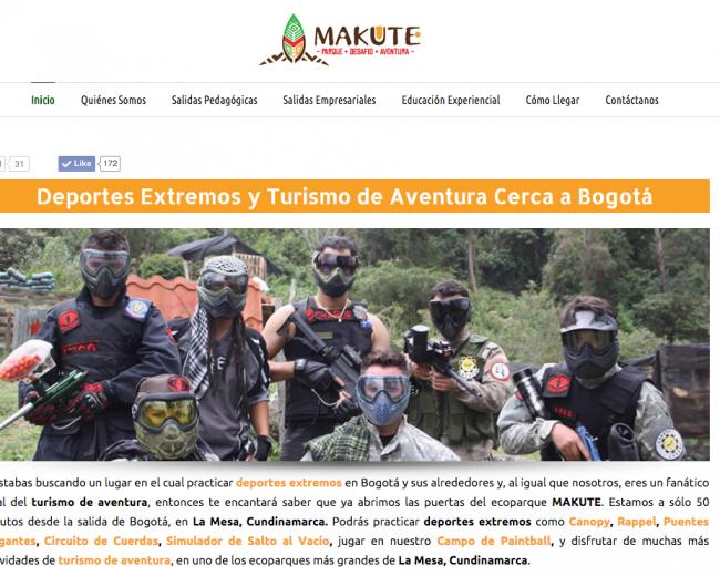 Deportes Extremos – Parque Makute