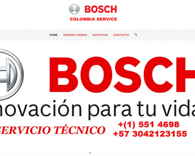 Bosch Colombia Service