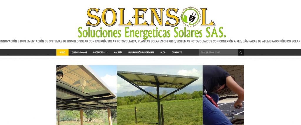 Solensol Electrosolar De Colombia