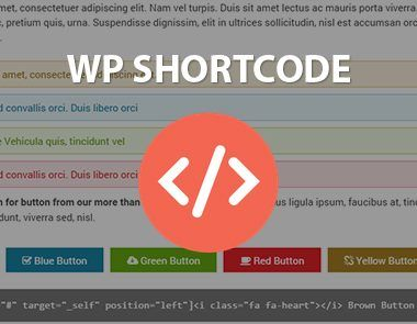 Insertar códigos shortcodes en WordPress